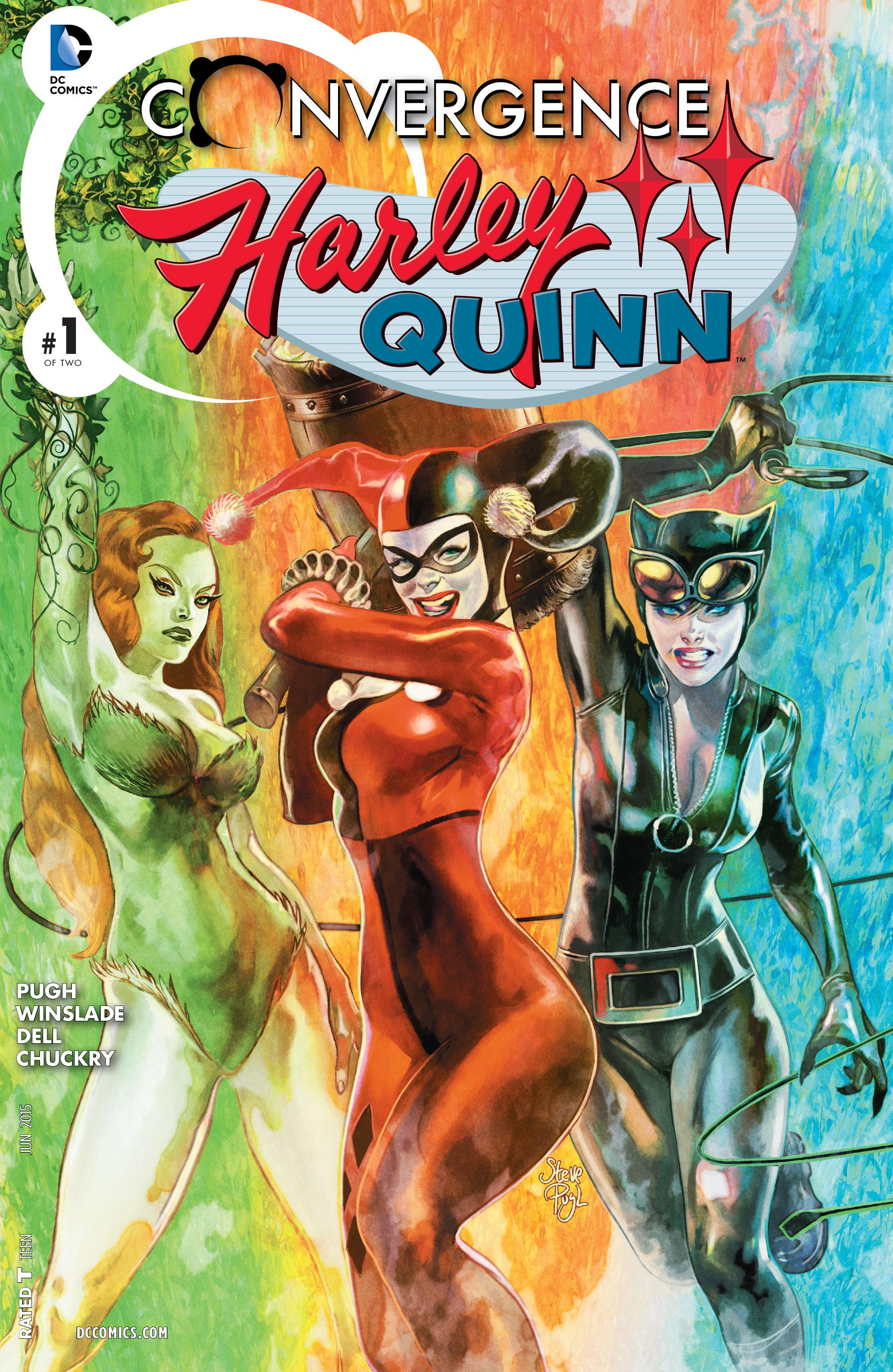 Convergence: Harley Quinn Vol 1 1