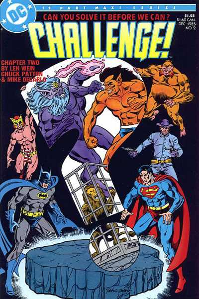 DC Challenge Vol 1 2