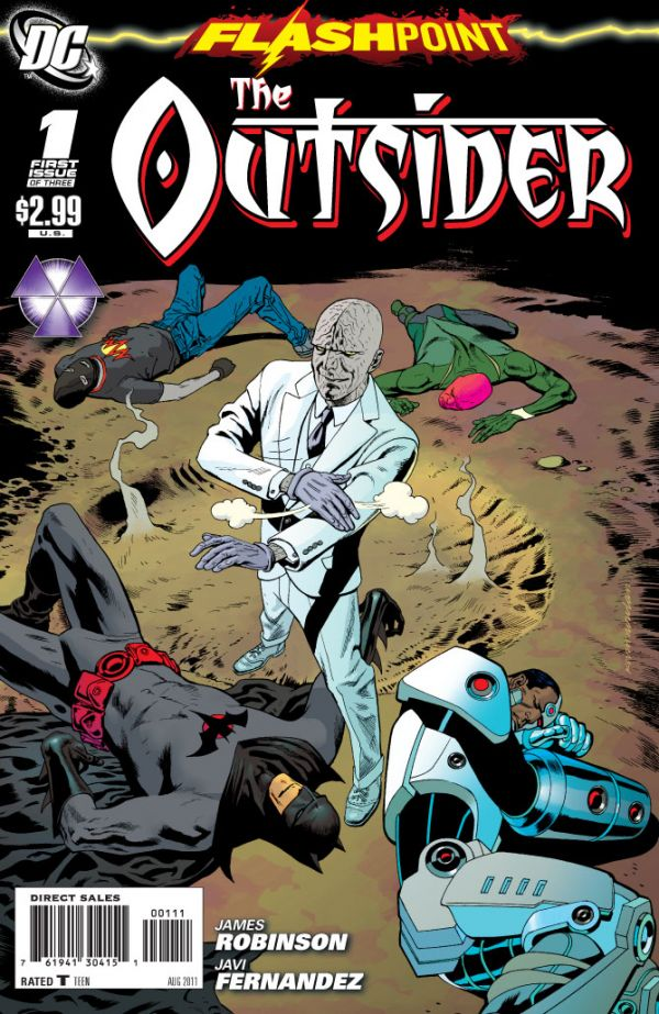 Flashpoint: The Outsider Vol 1