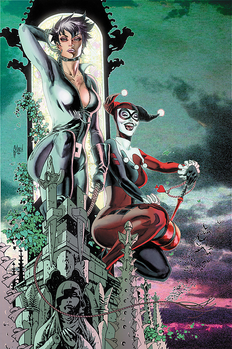 Gotham City Sirens Vol 1 12 Textless.jpg