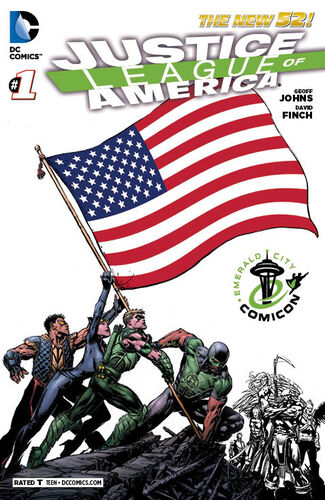 Emerald City ComicCon Variant