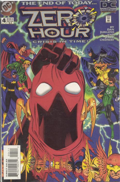Zero Hour: Crisis in Time Vol 1 4