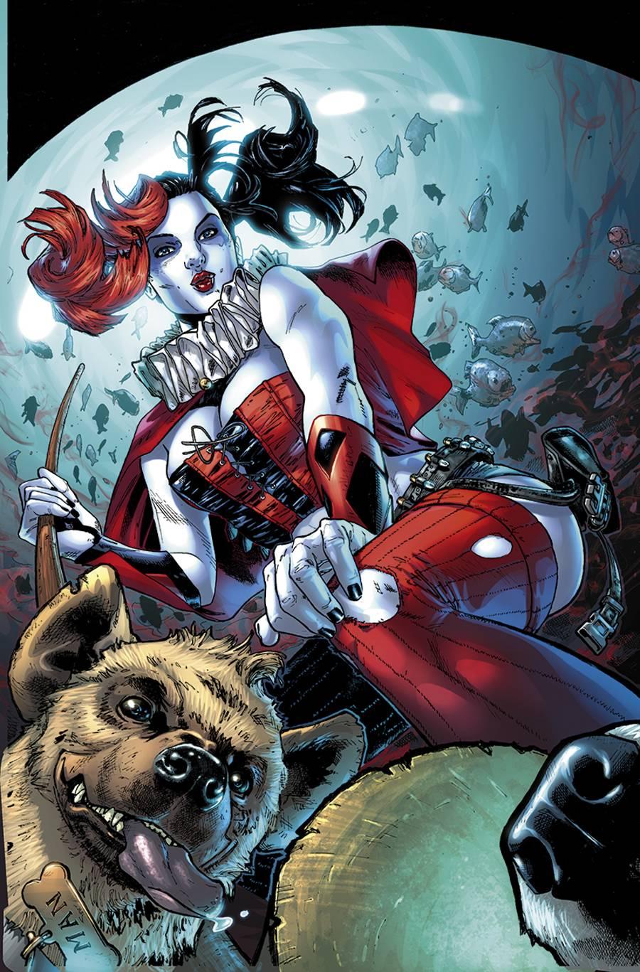 Harley Quinn Vol 2 1 2nd Printing Textless.jpg