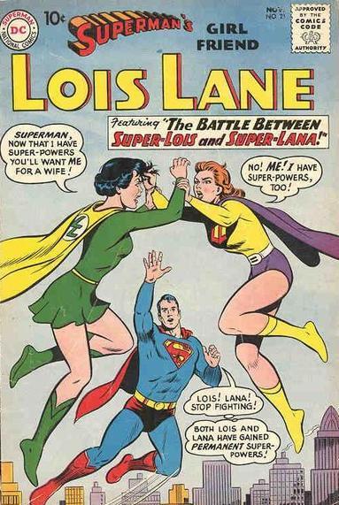 Superman's Girl Friend, Lois Lane Vol 1 21