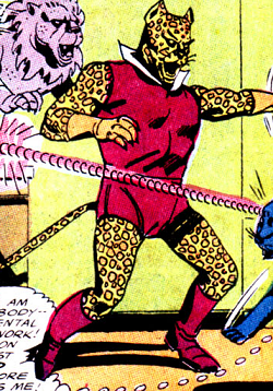 Lord Leopard (Earth-One)