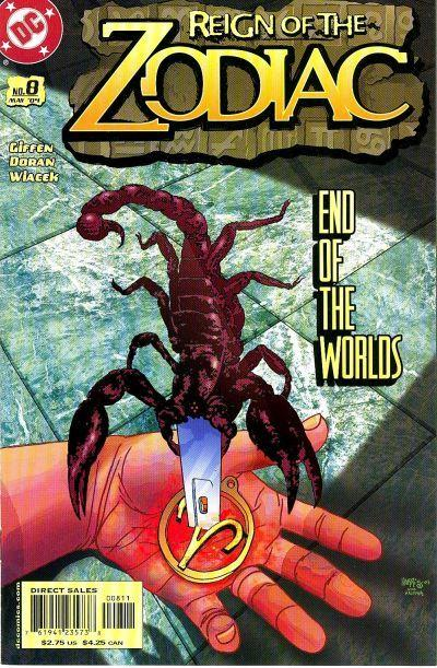 Reign of the Zodiac Vol 1 8
