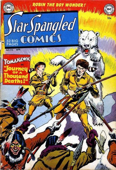 Star-Spangled Comics Vol 1 115