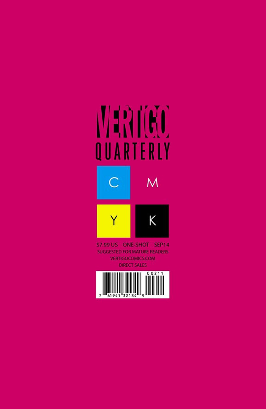 Vertigo Quarterly: Magenta Vol 1 1