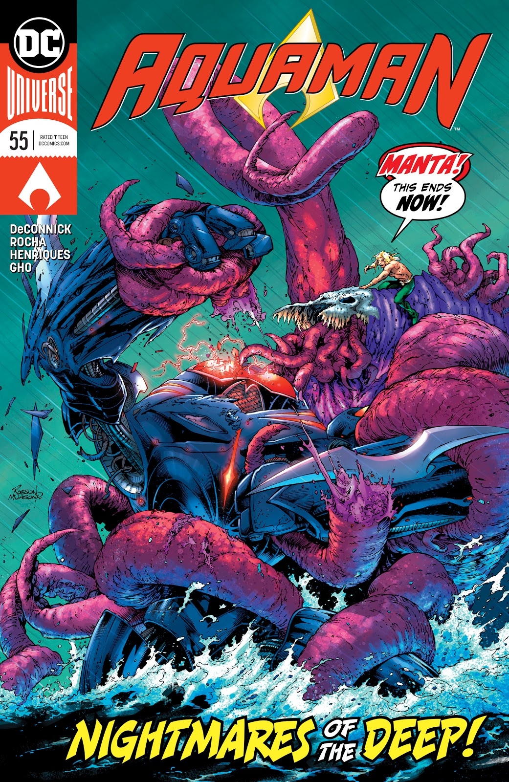 Aquaman Vol 8 55