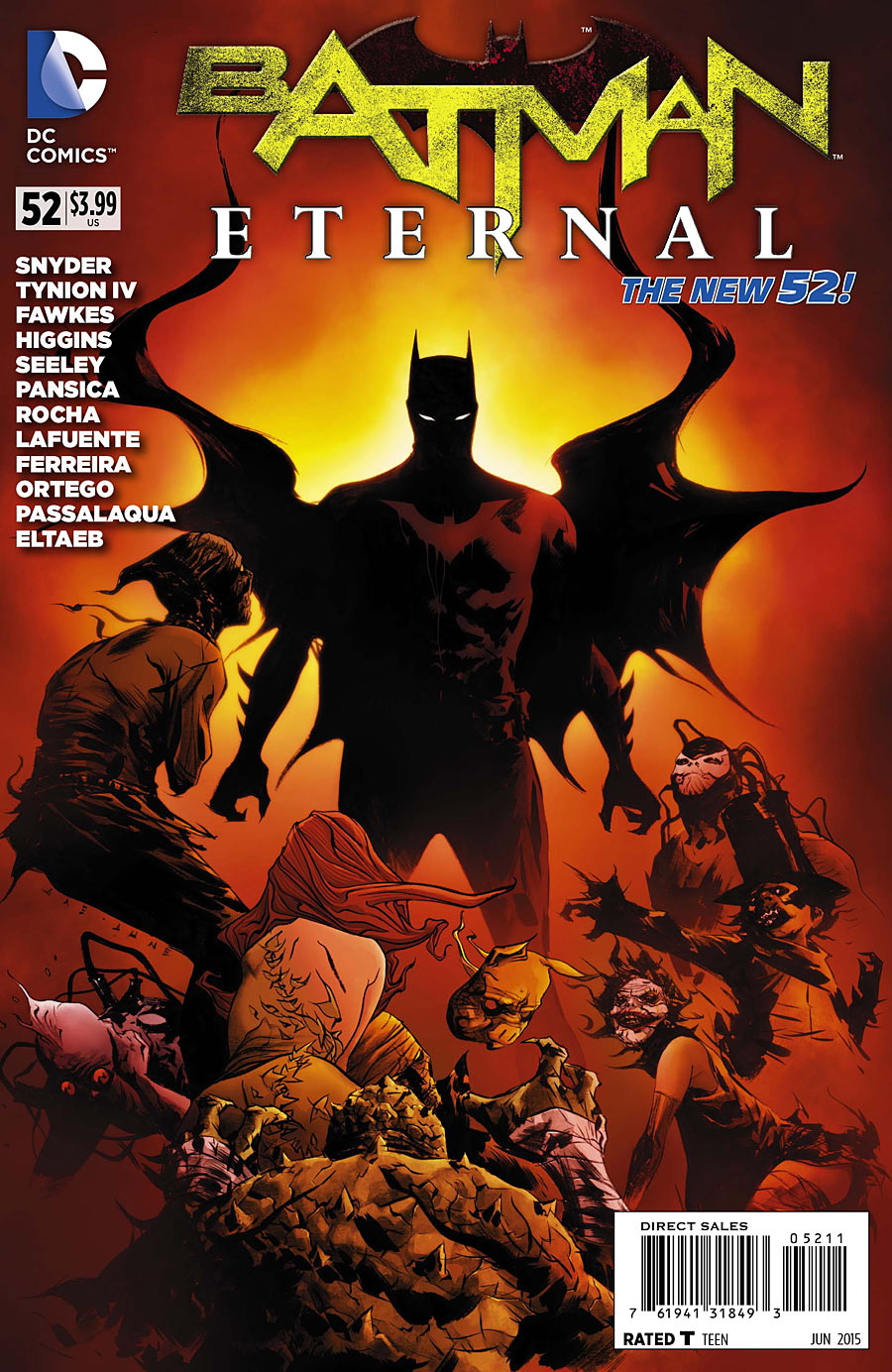 Batman Eternal Vol 1 52