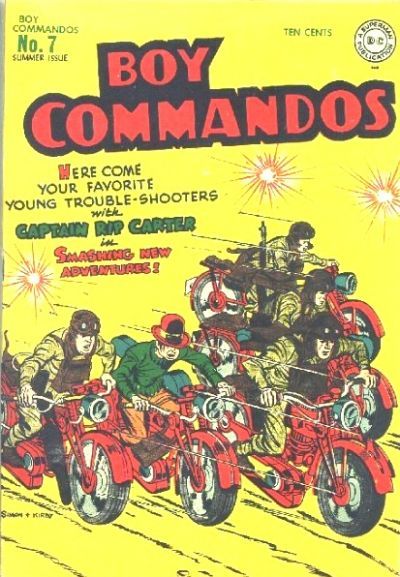 Boy Commandos Vol 1 7