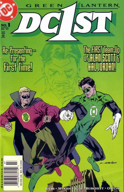 DC First: Green Lantern/Green Lantern Vol 1 1