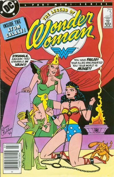 The Legend of Wonder Woman Vol 1 3