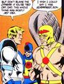 Silver Scarab and Hawkman