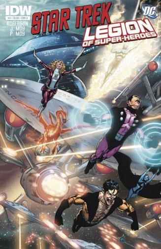 Star Trek/Legion of Super-Heroes Vol 1 4