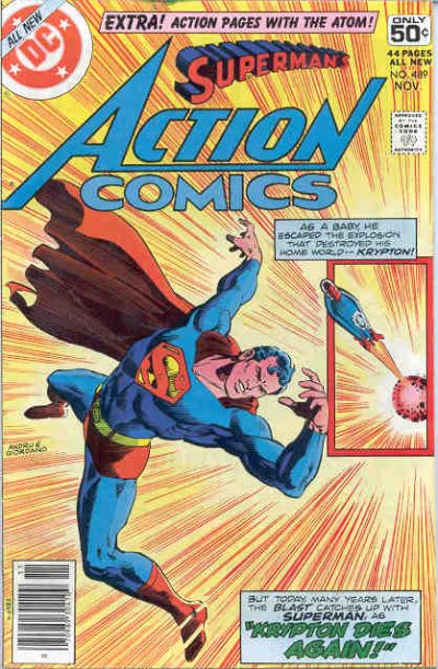 Action Comics Vol 1 489