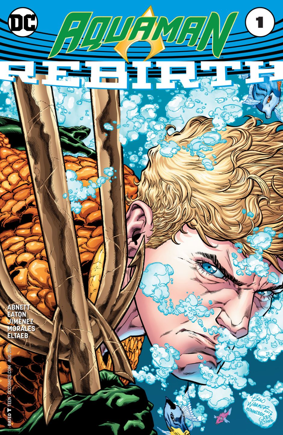 Aquaman: Rebirth Vol 1 1