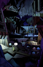 Hush discovers the Batcave
