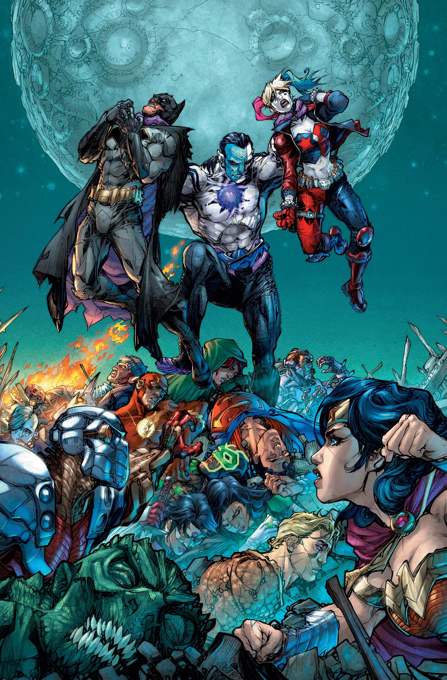 Justice League vs Suicide Squad Vol 1 6 Textless.jpg