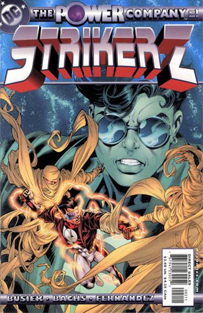 The Power Company: Striker Z Vol 1 1