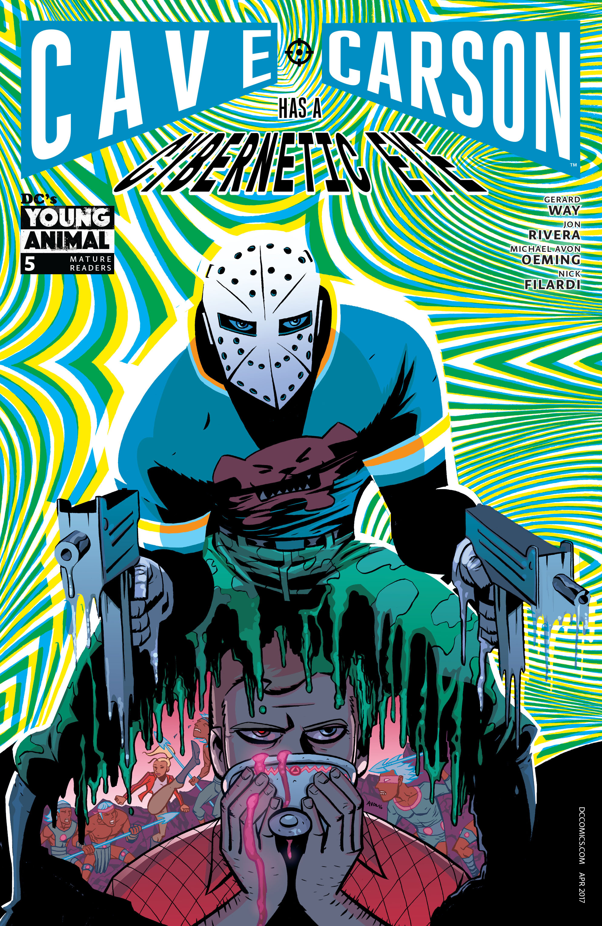 Cave Carson Has a Cybernetic Eye Vol 1 5