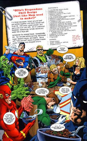Green Arrow's Chili is hot stuff.