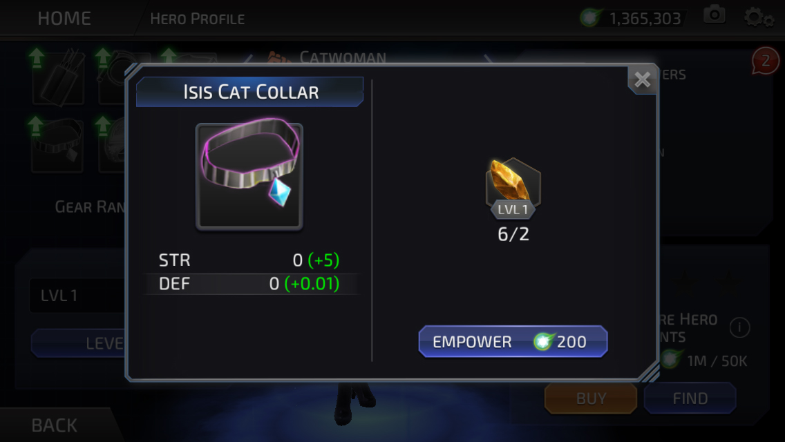 Isis the Cat (DC Legends)