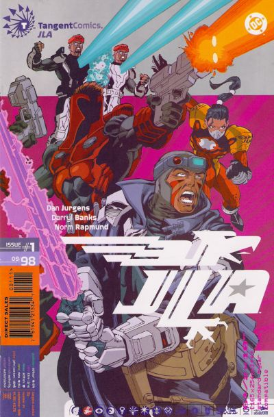 Tangent Comics: JLA Vol 1 1