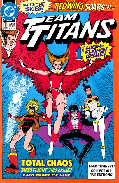Team Titans Vol 1 1: Redwing