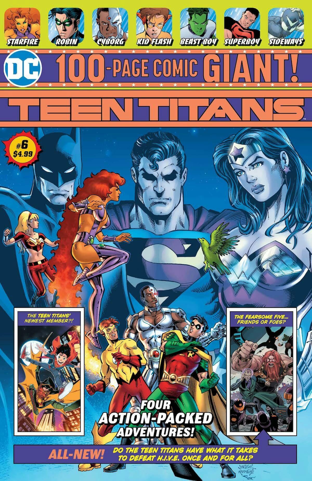 Teen Titans Giant Vol 1 6