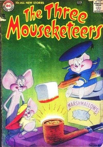 The Three Mouseketeers Vol 1 6