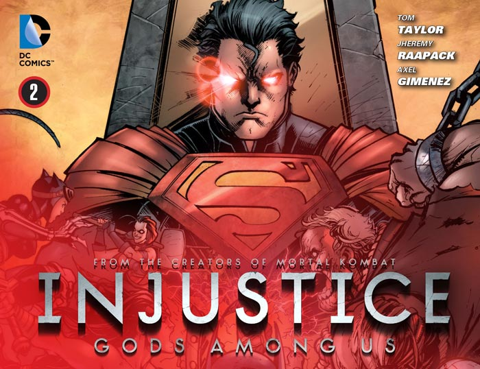 Injustice: Gods Among Us Vol 1 2 (Digital)