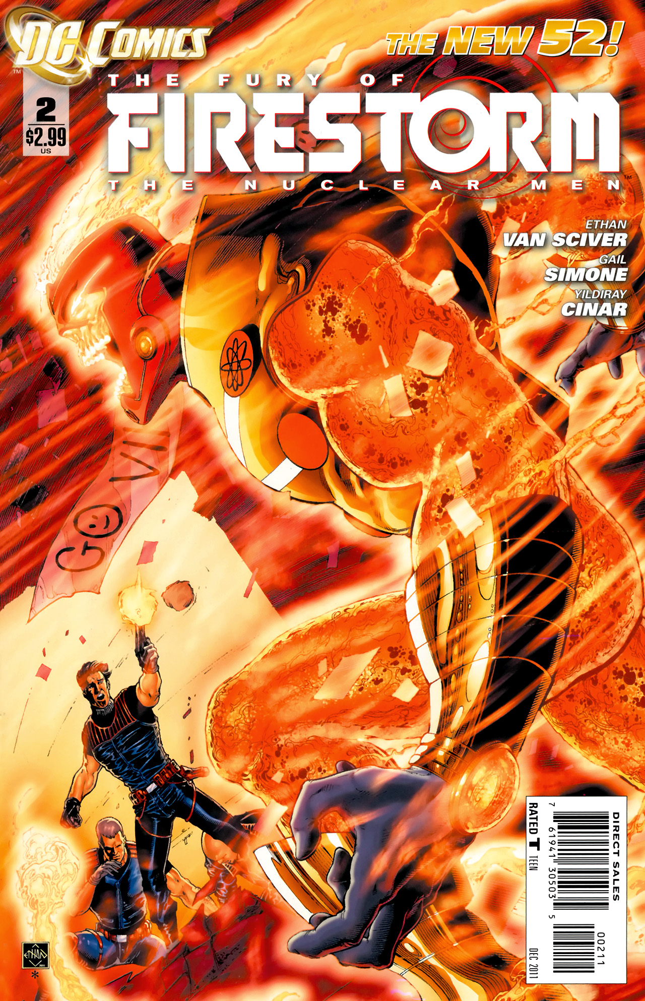 Fury of Firestorm: The Nuclear Men Vol 1 2