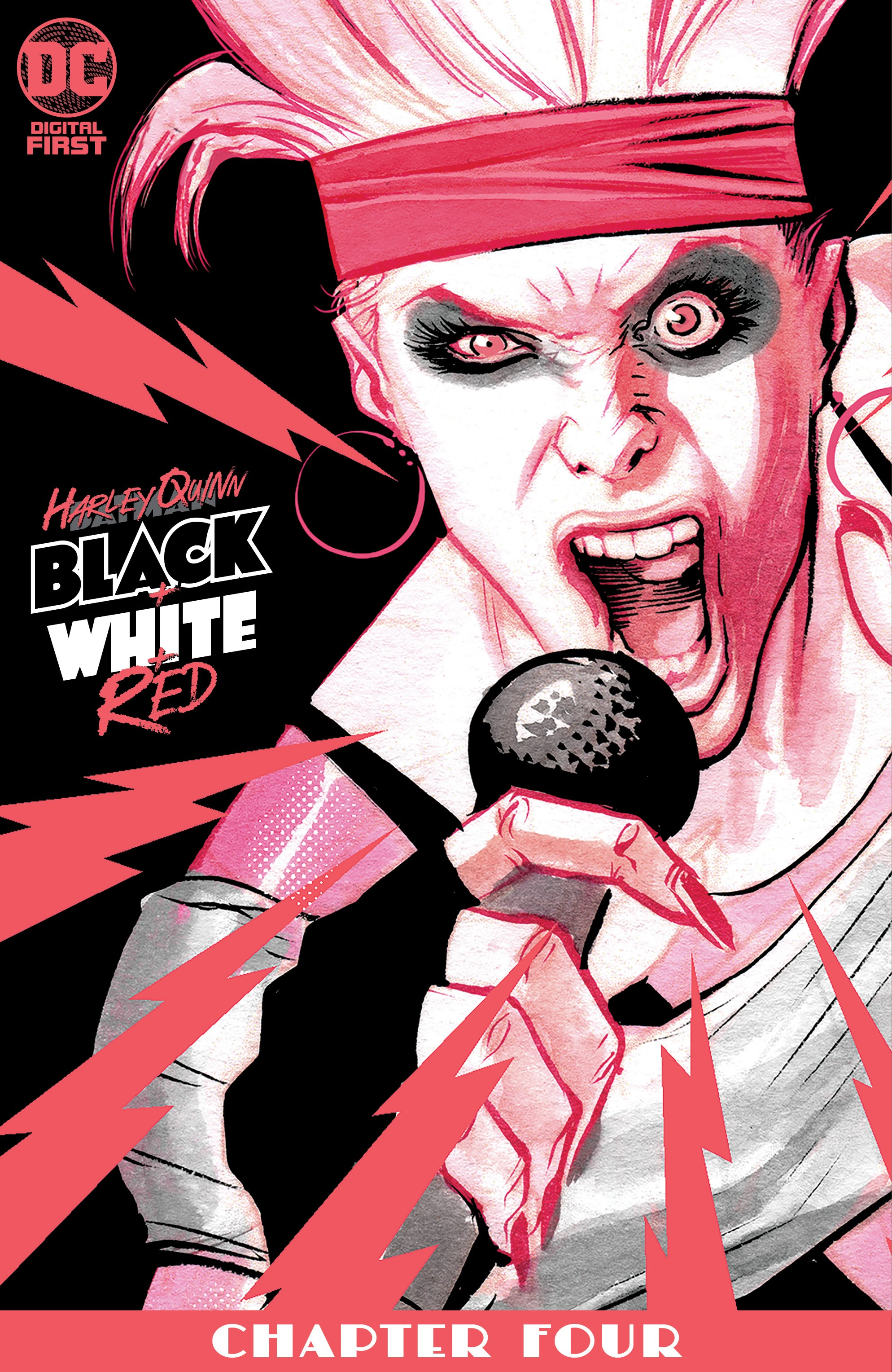 Harley Quinn: Black + White + Red Vol 1 4 (Digital)