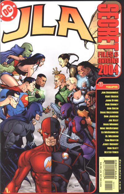 JLA Secret Files and Origins 2004