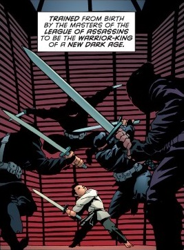 League of Assassins (Batman in Bethlehem)