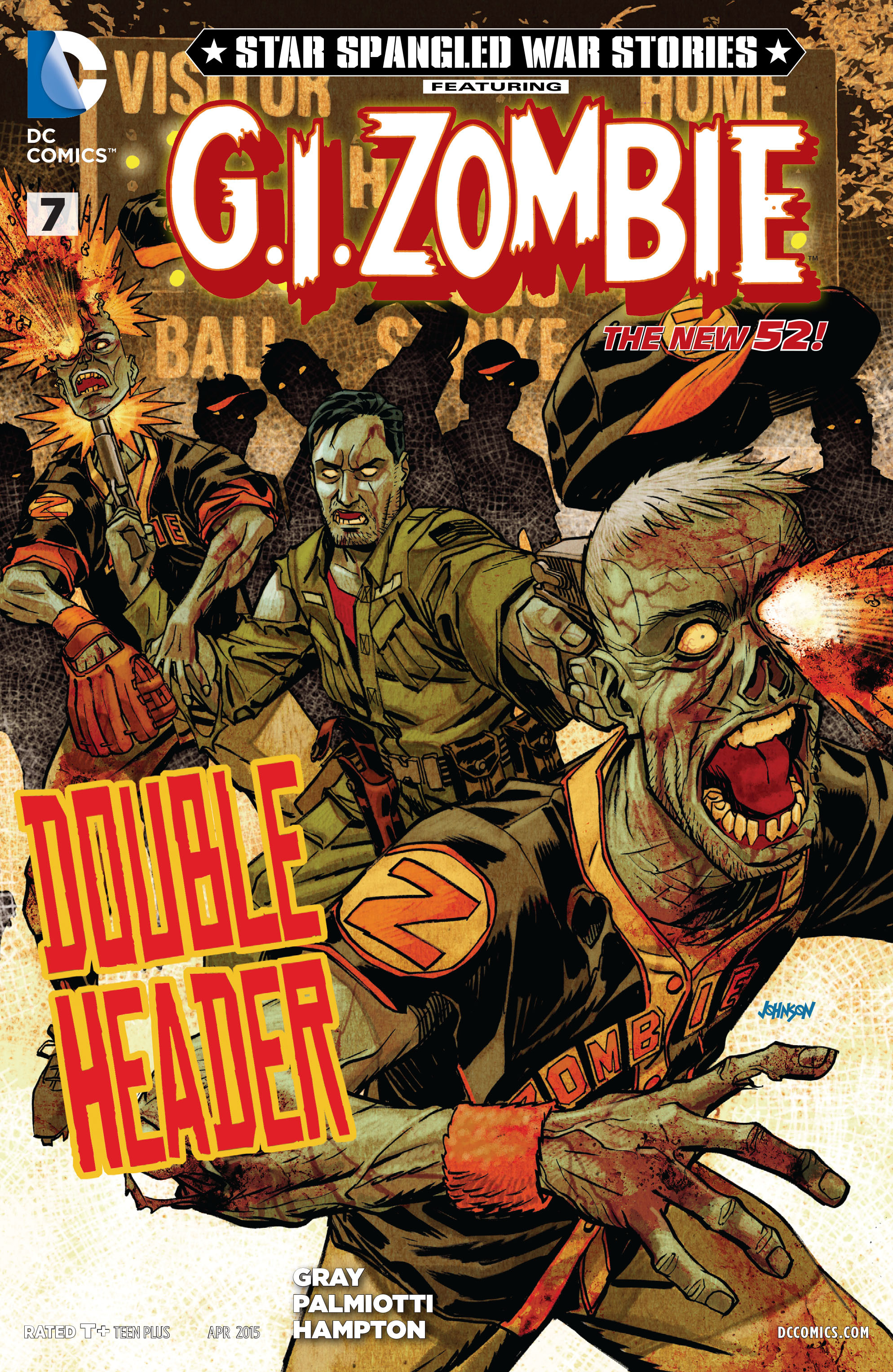 Star-Spangled War Stories Featuring G.I. Zombie Vol 1 7