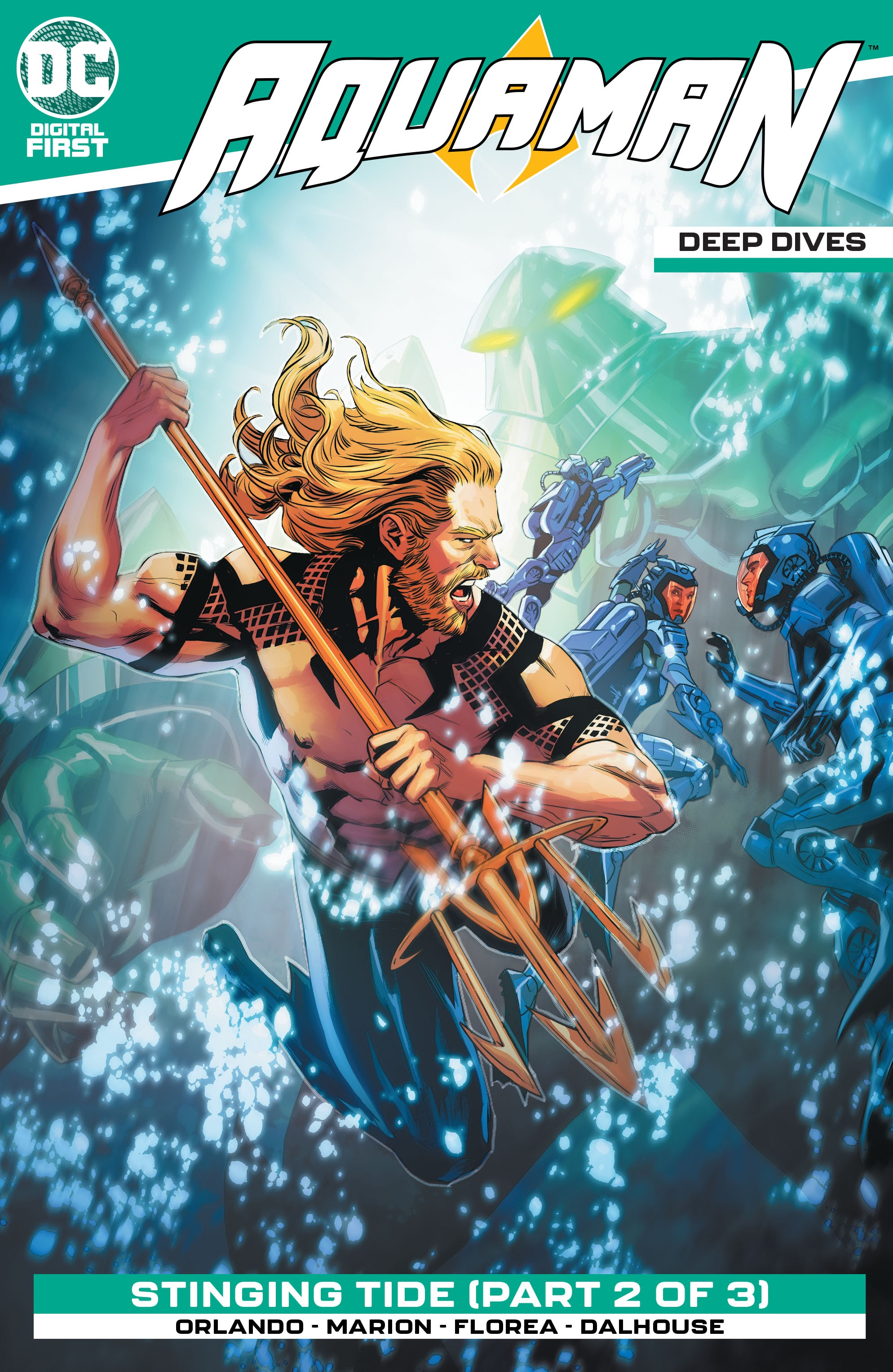 Aquaman: Deep Dives Vol 1 6 (Digital)