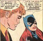 Batgirl and Jason Bard