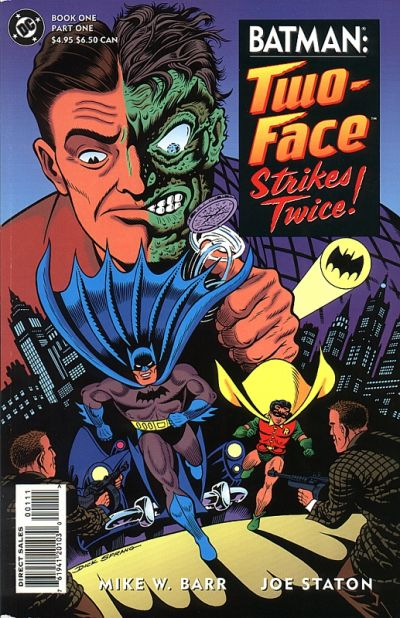 Batman: Two-Face Strikes Twice Vol 1 1