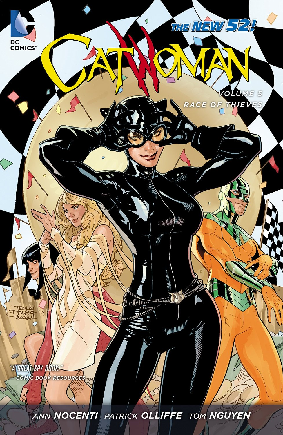 Catwoman: Race of Thieves (Collected)