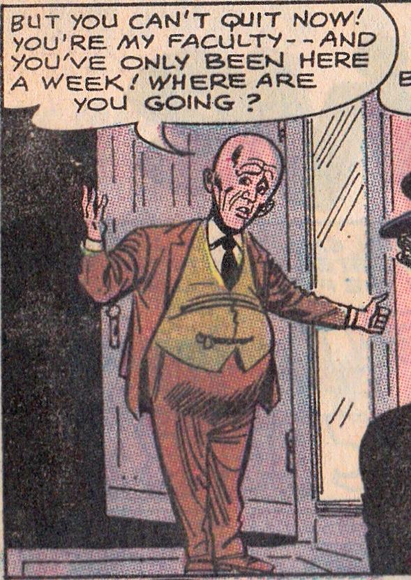 Dean Egghead (Earth-Twelve)