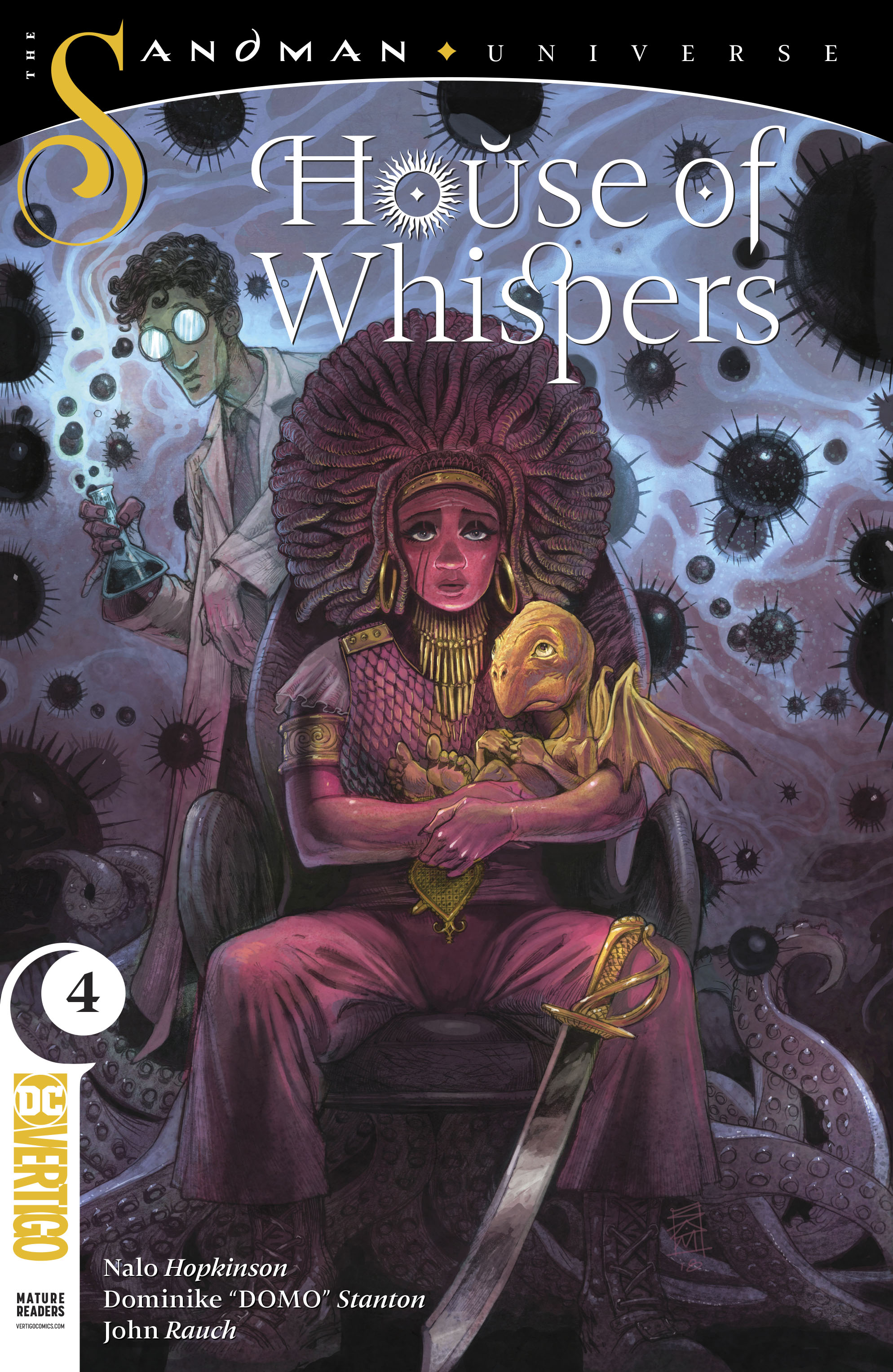 House of Whispers Vol 1 4