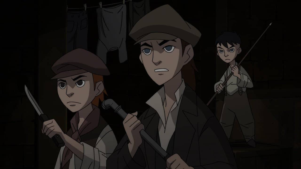 Outsiders (Gotham by Gaslight Movie)
