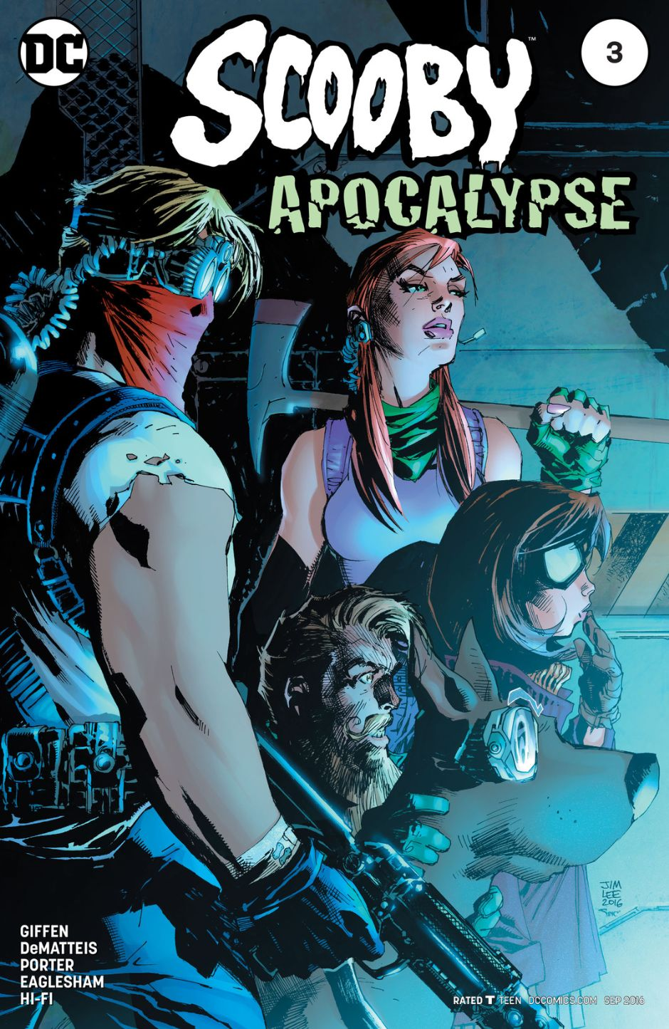 Scooby Apocalypse Vol 1 3