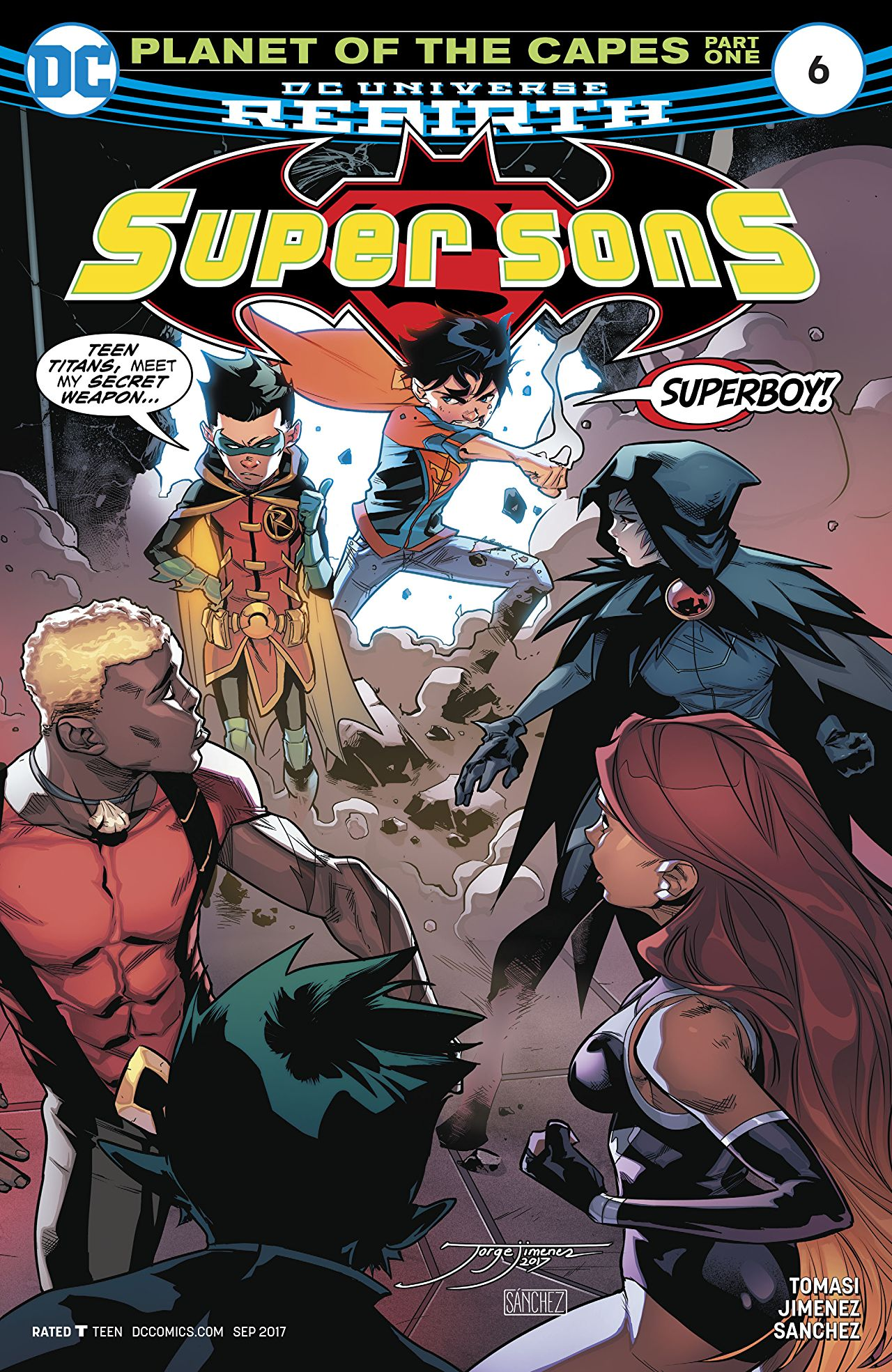 Super Sons Vol 1 6