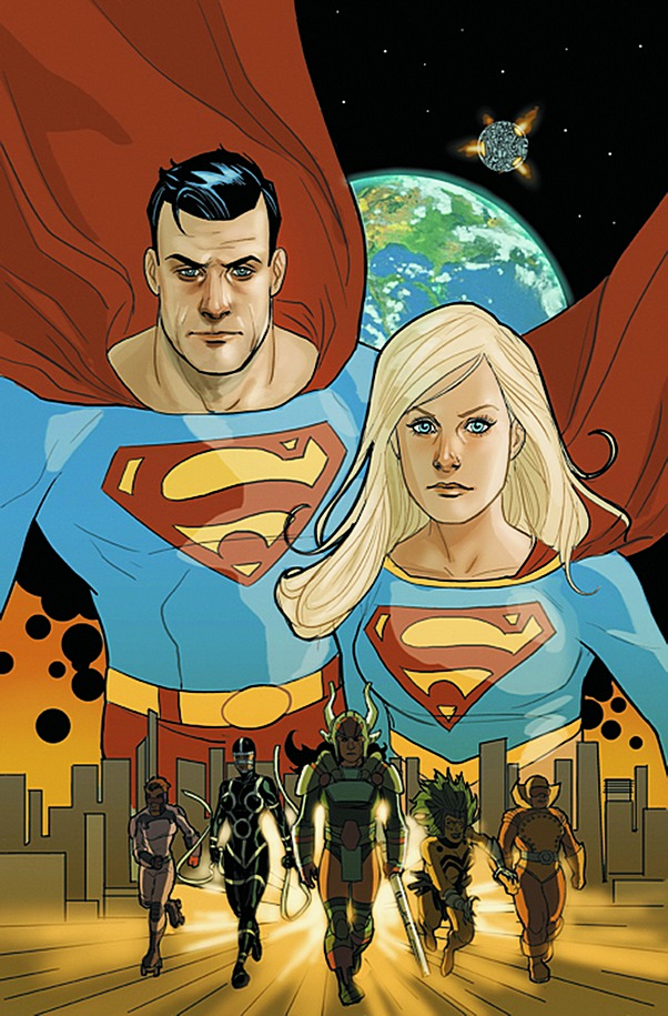 Superman Supergirl Maelstrom Vol 1 5 Textless.jpg