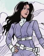 Talia al Ghul Teen Titans Raven 0001