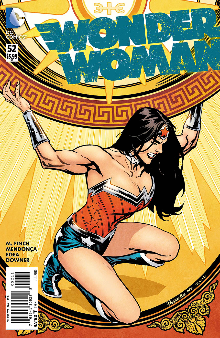 Wonder Woman Vol 4 52