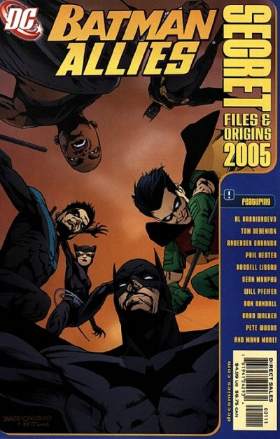 Batman Allies Secret Files and Origins 2005